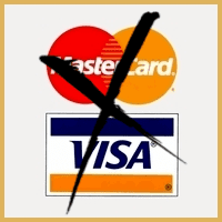 Bankkort eller kreditkort blockeras