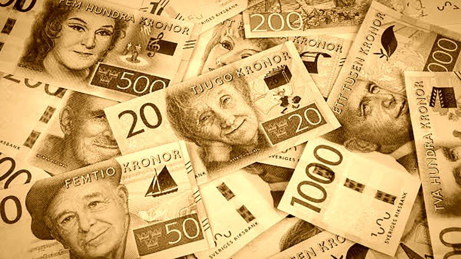 Svårt med svenska kronor